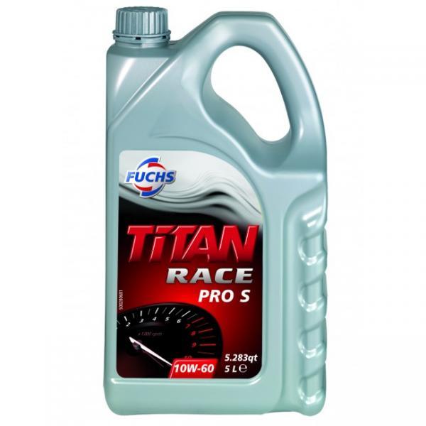 F. TITAN RACE PRO S 10W-60 5L