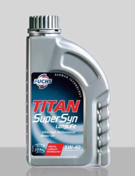 F. TITAN SUPERSYN LONGLIFE 5W-40 1L