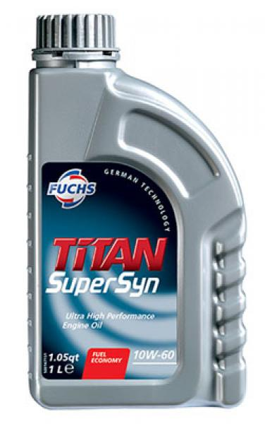 F. TITAN SUPERSYN 10W-60 1L