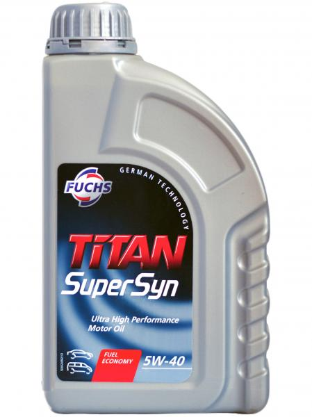 F. TITAN SUPERSYN 5W-40 1L