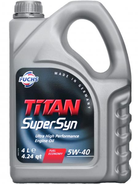 F. TITAN SUPERSYN 5W-40 4L