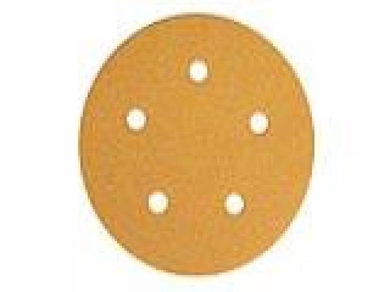 Gold 125mm H5 P180 grip
