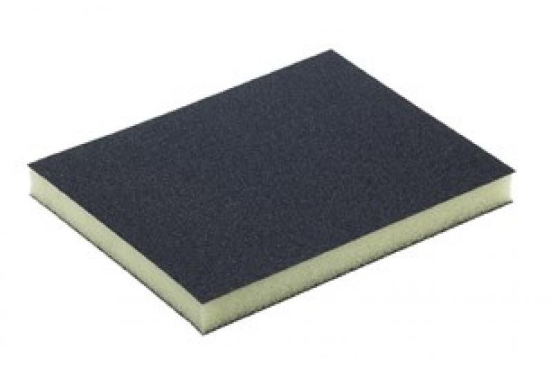 Шлифовальная губка двухсторонняя 120x98x13мм    P120/120
