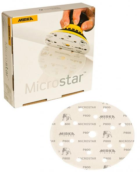 Microstar 150mm P1500 H15 grip