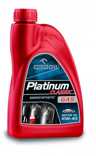 O. PLATINUM CLASSIC GAS SEMISYNTHETIC 10W-40 1L