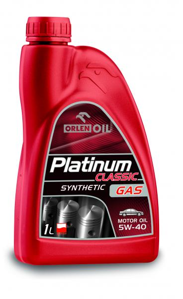 O. PLATINUM CLASSIC GAS SYNTHETIC 5W-40 1L