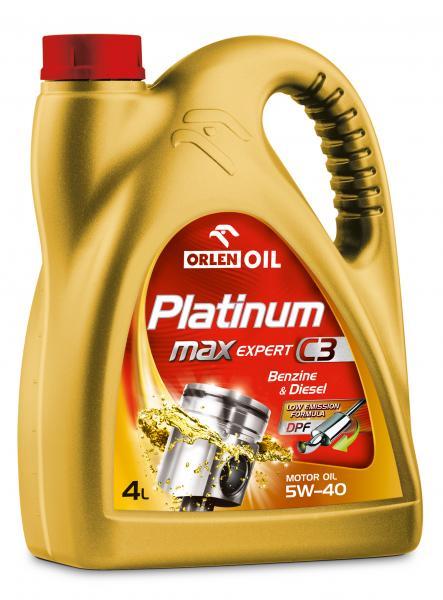 O. PLATINUM MAXEXPERT C3 5W-40 205L