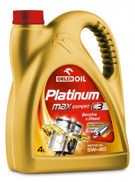 O. PLATINUM MAXEXPERT C3 5W-40 4L