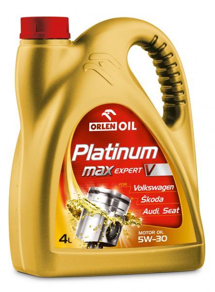O. PLATINUM MAXEXPERT V 5W-30 4L