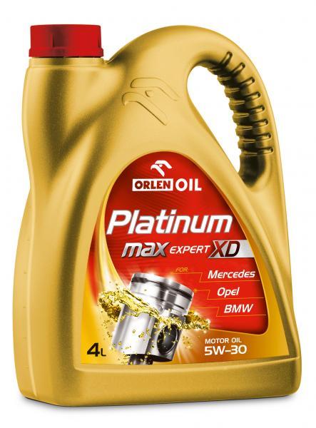 O. PLATINUM MAXEXPERT XD 5W-40 4L