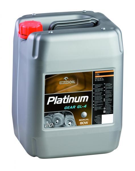 O. PLATINUM GEAR GL-4 80W 20L