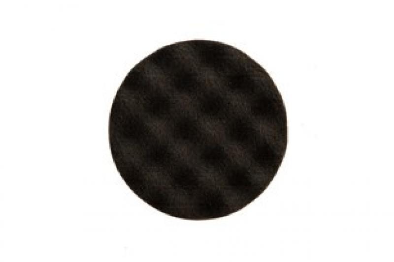 Polishing Foam Pad 85x25mm Black Waffle, 2/Pack