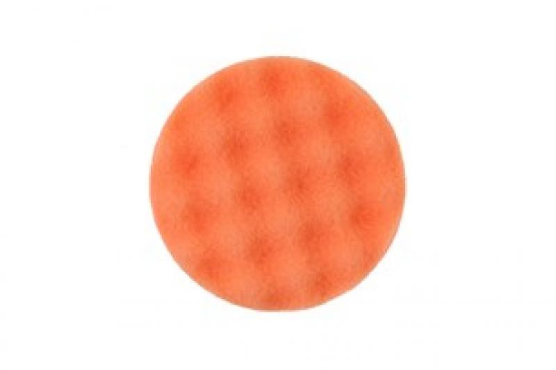 Polishing Foam Pad 85x25mm Orange Waffle, 2 / Pack
