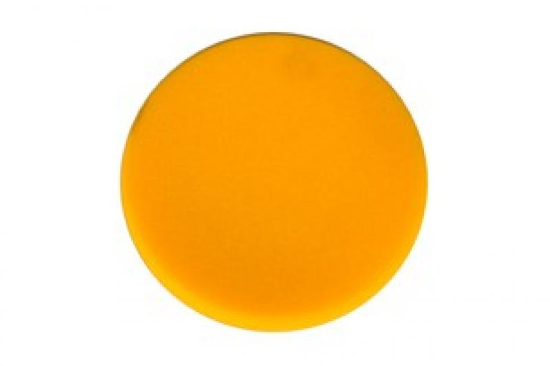 Polishing Foam Pad 150x25mm Yellow Flat, 2/Pack