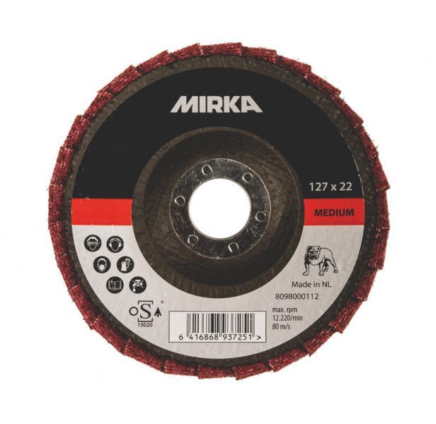 MIRKA POLISH DISC  125MM COARSE