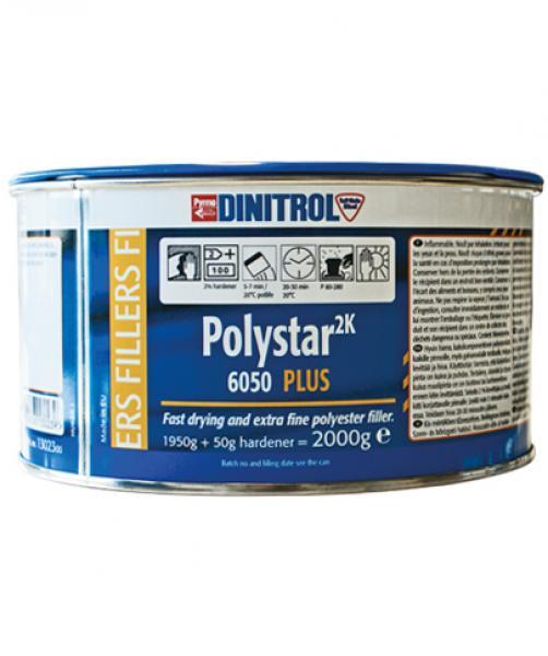 Универсальная шпатлевка Polystar 6050 2000g