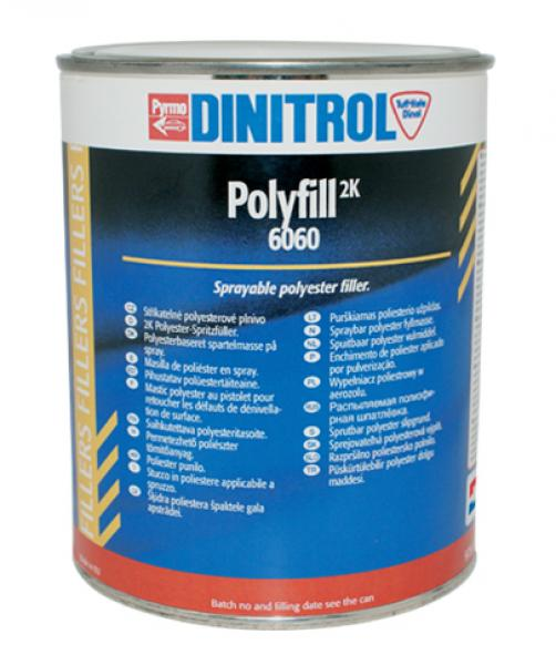Poly-fill 6060 grey 1500g