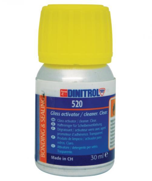 D. Klaasiliimi puhastusaine-aktivaator 520 30ML