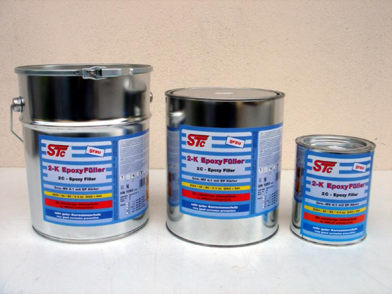 "2K-Epoxy-Filler 4:1 ""grey"""