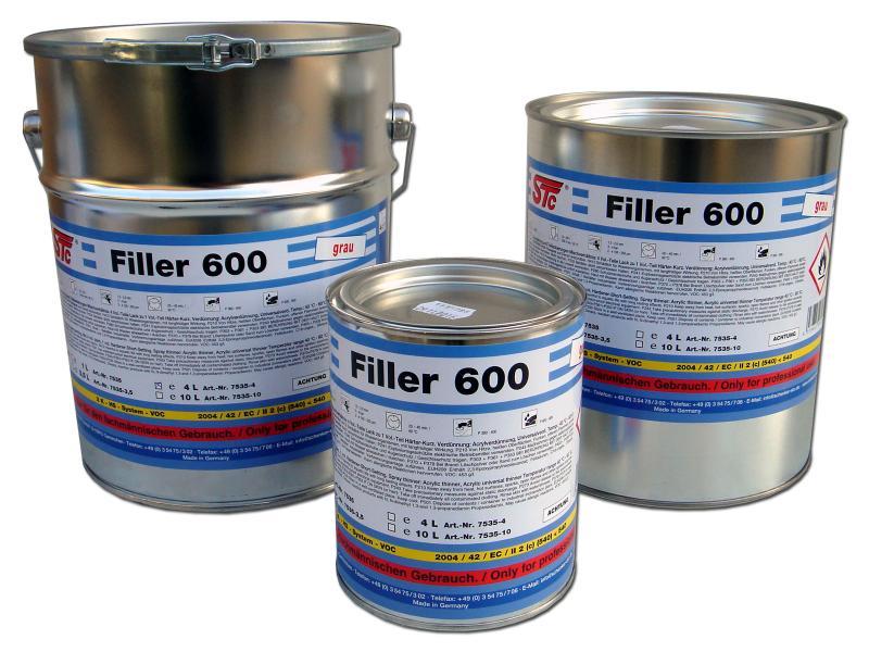 Filler 600 H 2K-HS light grey 3,5L