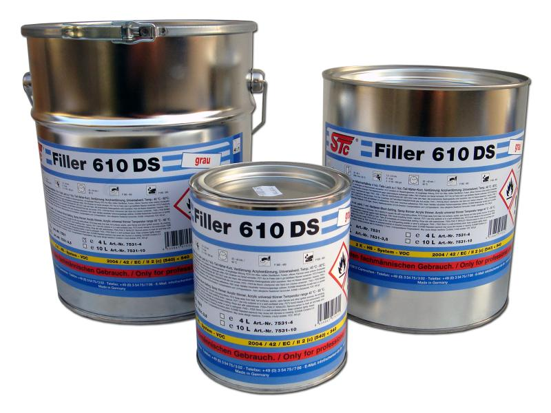 STC Filler 610 2K-HS gray 1L