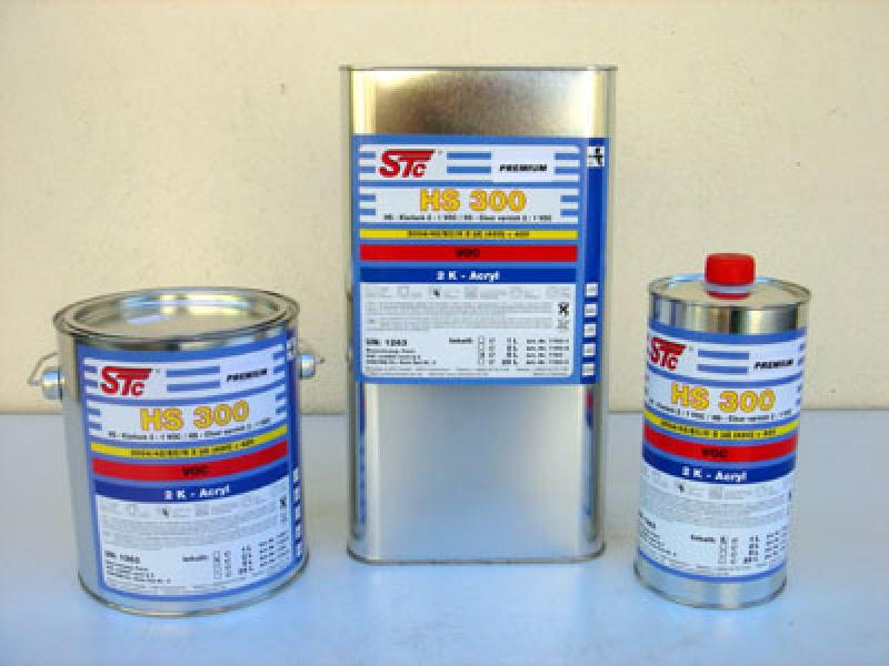 HS300 Clear varnish 2:1 VOC 5L