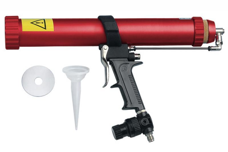 STC   клеевой пистолет 310/400/600мл   пневмо