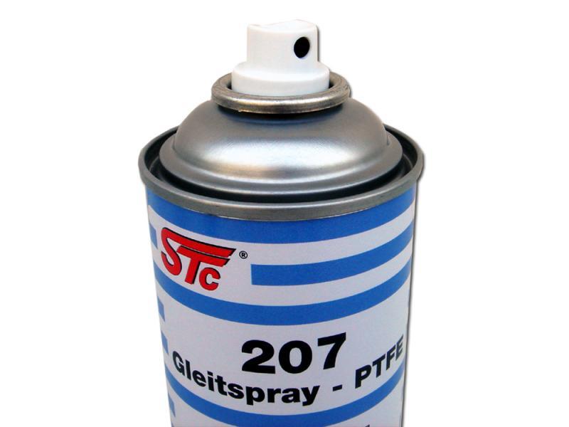 STC скользкая смазка PTFE 207 400мл аэрозоль