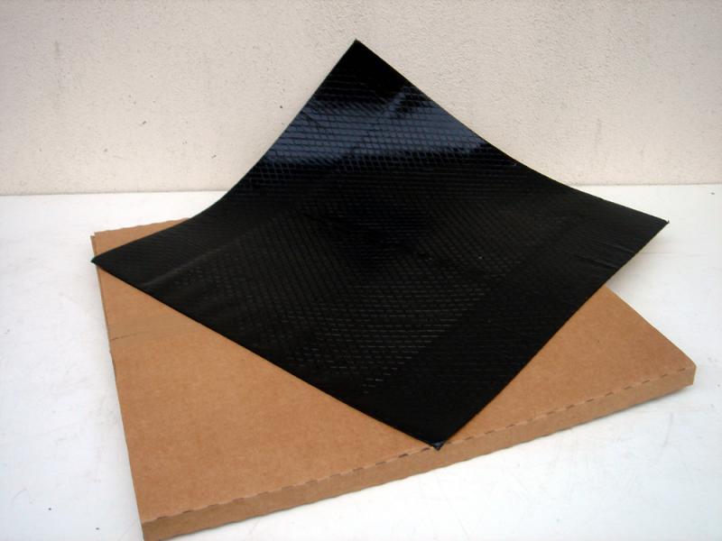STC  шумоподавляющий коврик 50x50cm