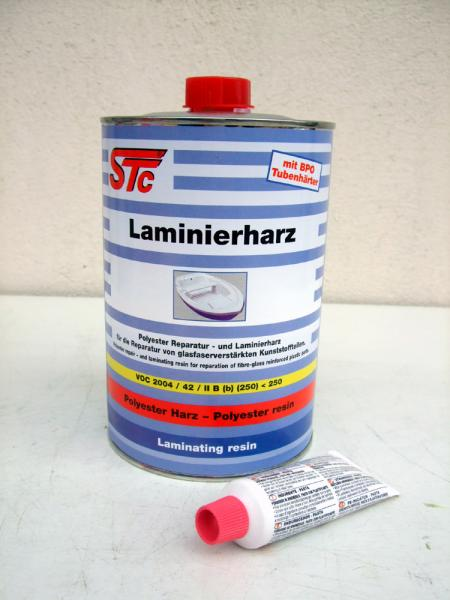 Laminating resin + Tube hardener