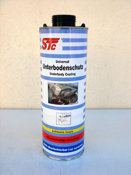 STC Underbody Protection (Wax) Black 1L