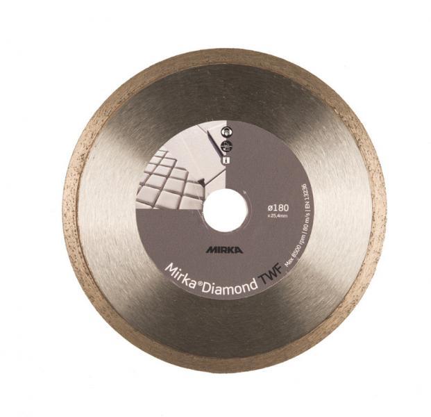 Диск алмазный  125x22,2 TWF