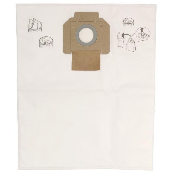 Dustbag Fleece for DE 415/915, 5/Pack - Mirka