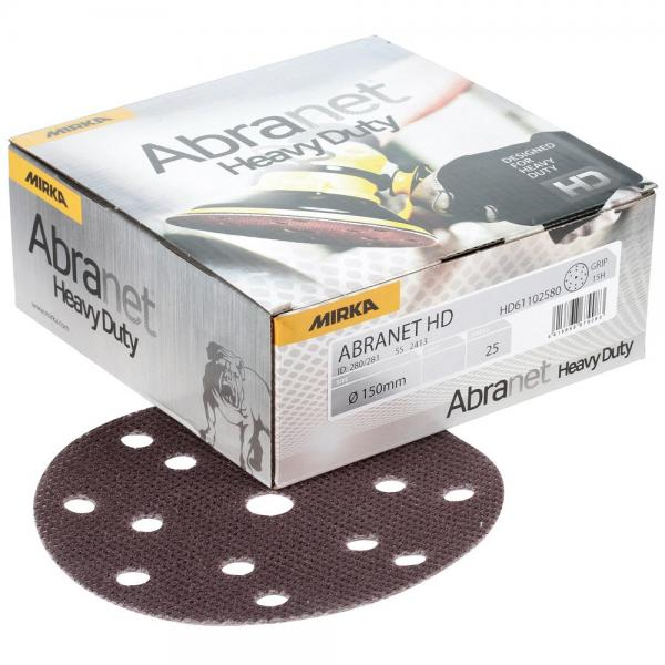 ABRANET HD 150mm Grip 15R P60 5-pakk