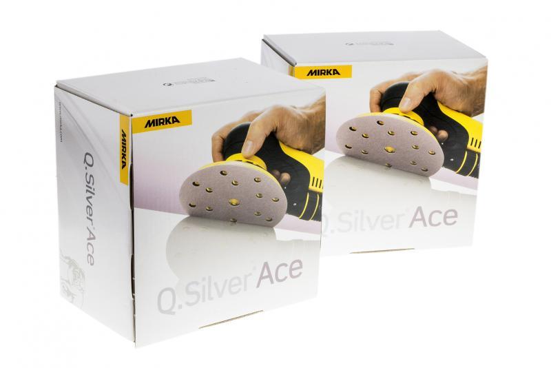 Q.SILVER ACE 150мм   P800   липучка  15 отв