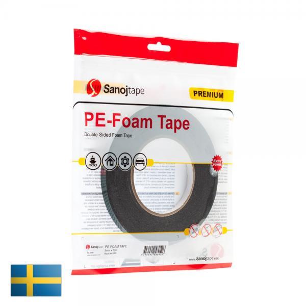 Automotive PE-foam 9mm x 10m