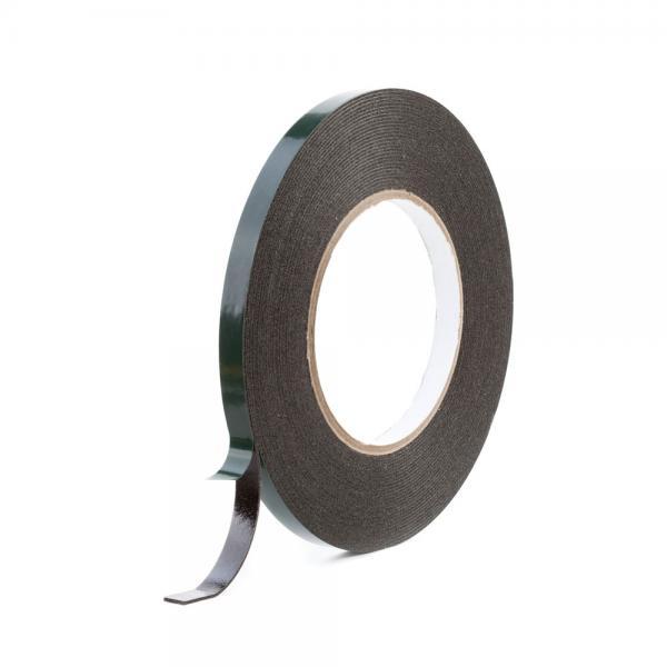 Sanoj Tape kahepoolne teip PE-foam 12mm x 10m (must)