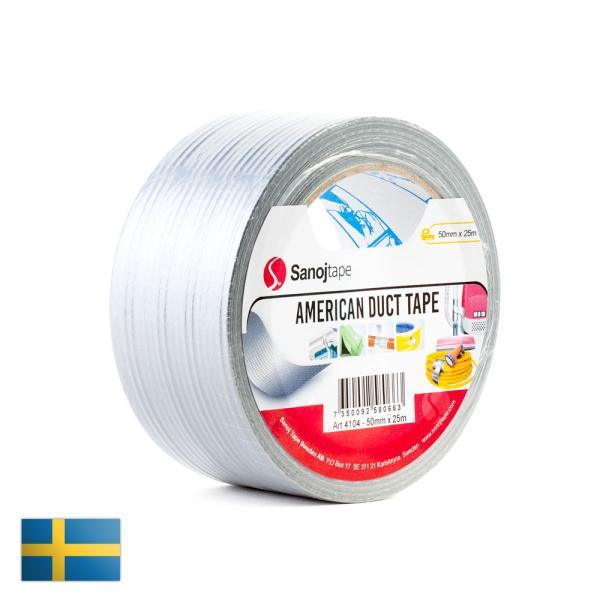 Sanoj Tape hall veekindel riideteip 50mm x 25m (MacGyveri teip)