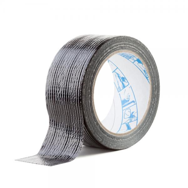 Sanoj Tape must veekindel riideteip 50mm x 25m (MacGyveri teip)