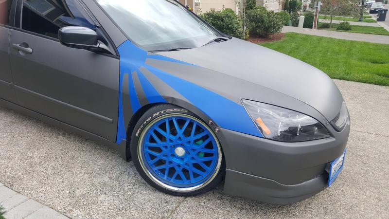 Plasti Dip® аэрозольная краска 325мл (специальный гибкий синий)