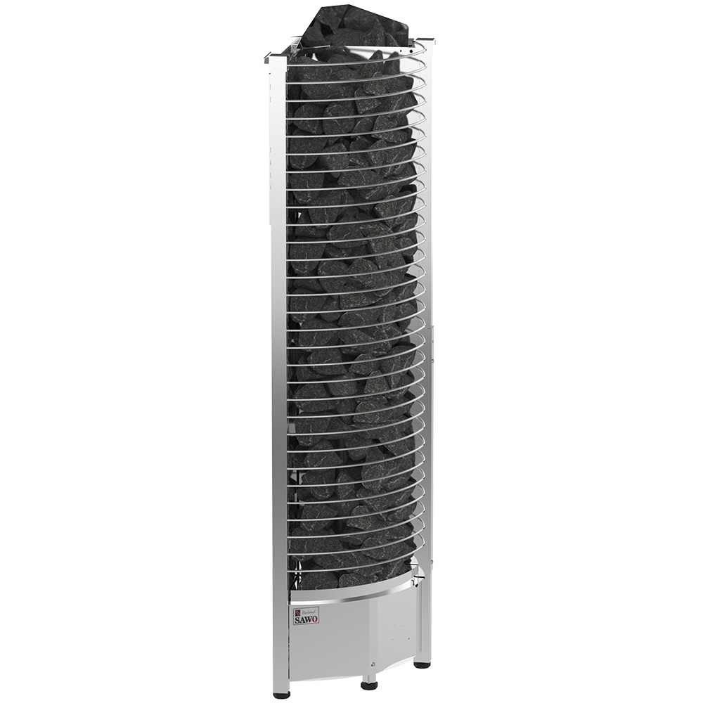 Sauna Electric heater Sawo Tower Corner TH3 6.0kW, Without contactor, without control unit
