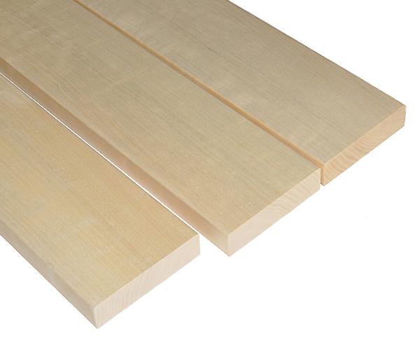 Aspen bench wood SHP 28x120, 1800mm