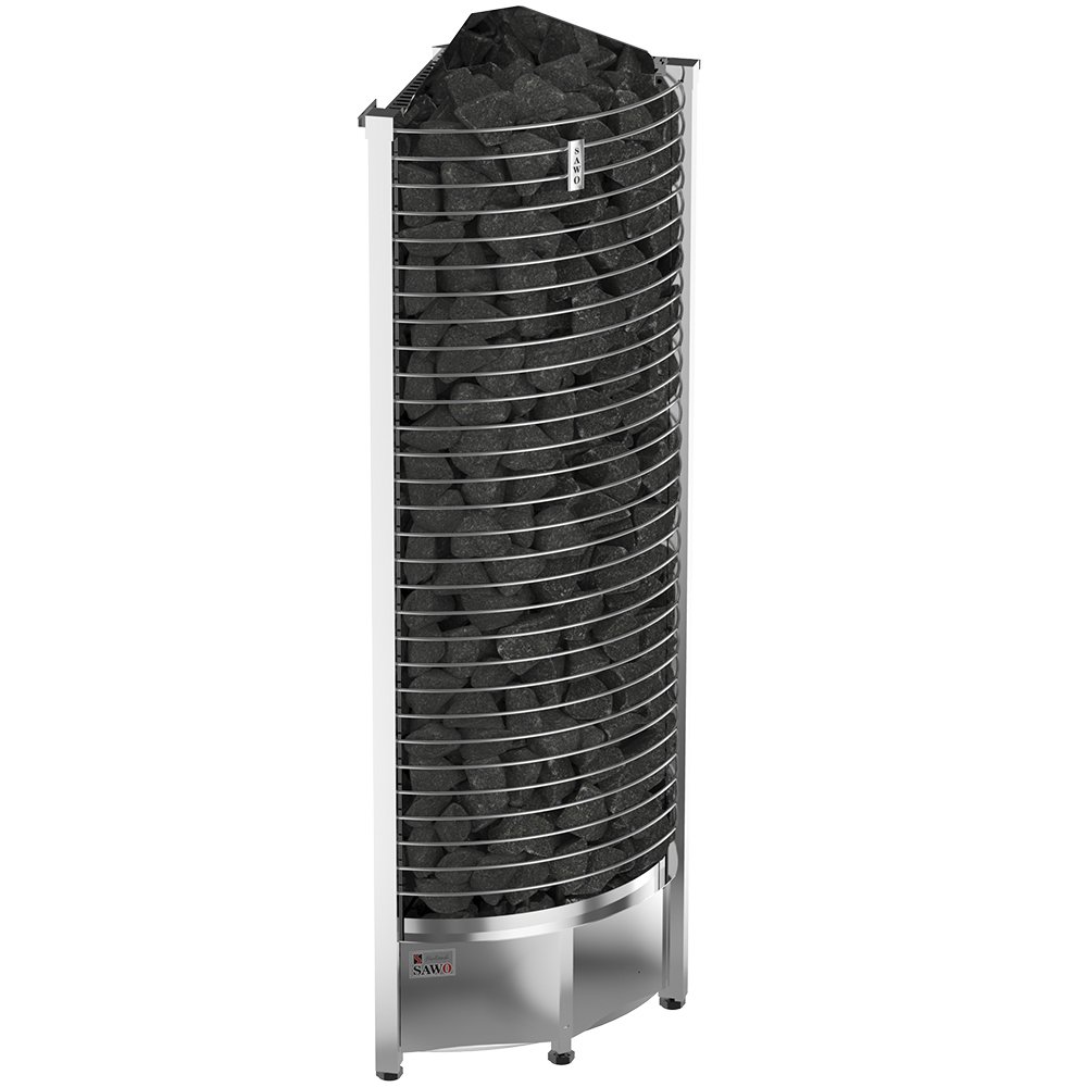 Sauna Electric heater Sawo Tower Corner TH4 6.0kW, Without contactor, without control unit