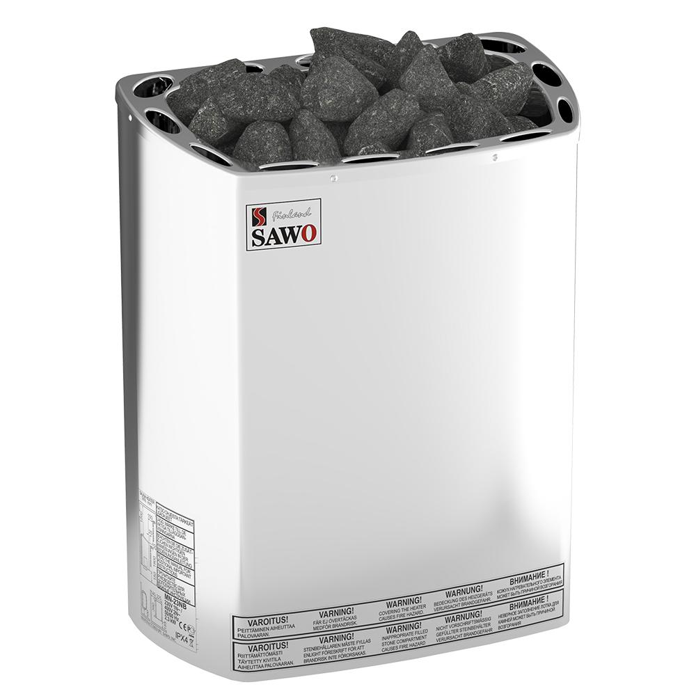 Sauna poêle électrique Sawo Mini 2.3kW, sans contacteur, sans unité de commande