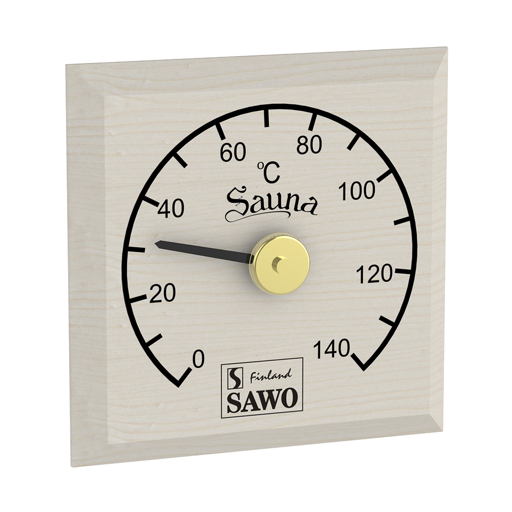 Sawo Thermometer 105-TBA, Normal cut, Aspen