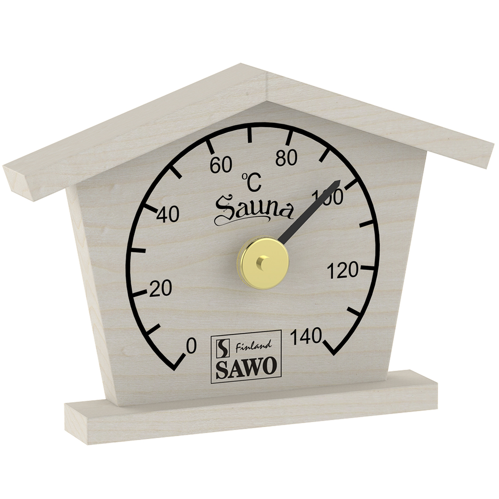 Sawo Thermometer 135-TBA, Summerhouse, Aspen