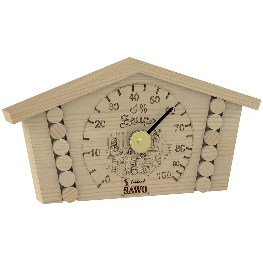 Sawo Hygrometer 145-HP, Log house, Pine
