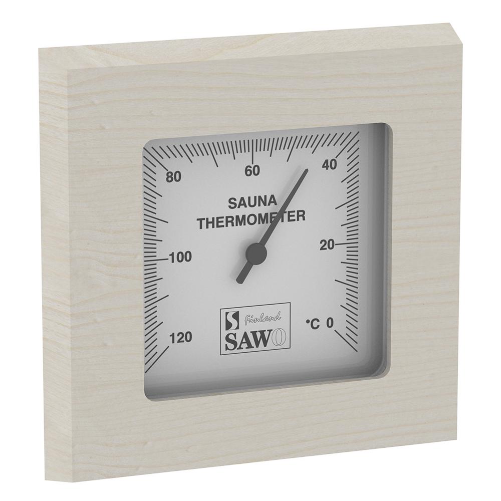 Sawo Thermometer 223-TA, Rectangular, Aspen