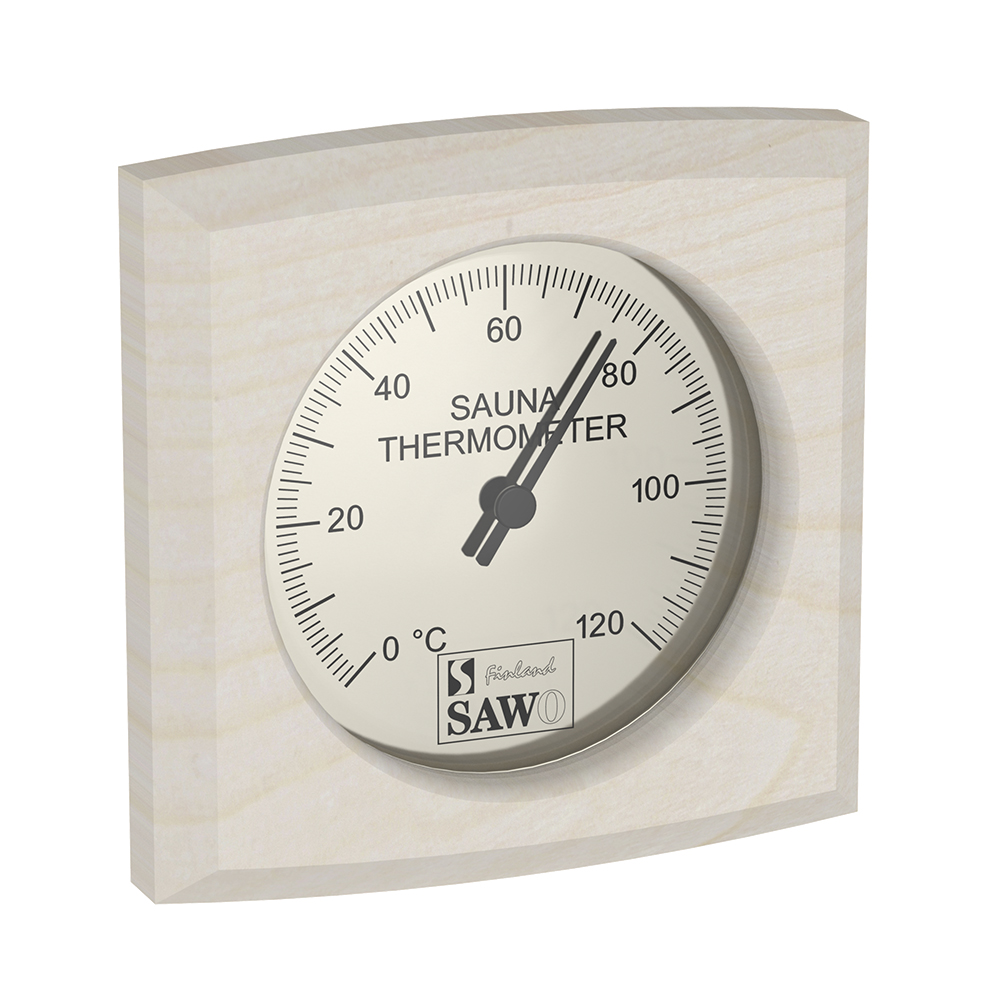 Sawo Thermometer 270-TBA, Rectangular, Aspen