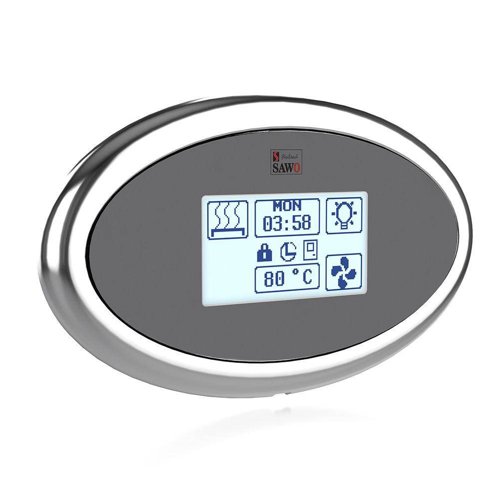 Sawo Innova Touch S, Kontrollpanel med kontaktor, Standart
